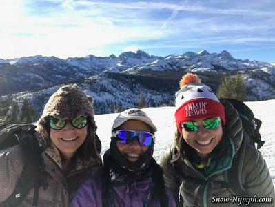2018-12-29  Minaret Vista Snowshoe and (30th) Virginia Lks Snowshoe