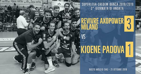 2^ And: Revivre Axopower Milano - Kioene Padova