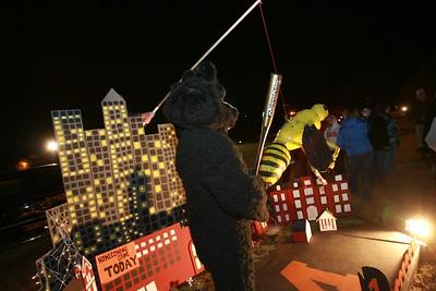 2008 Homecoming Bonfire and Floats