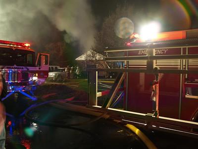 11-27-09 Hillsdale, NJ - Working Fire