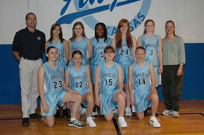 Angels Basketball 2005 - 2006