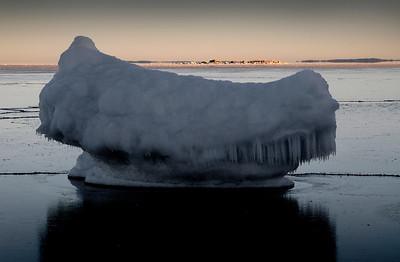 Ice-jäätyminen-havet fryser