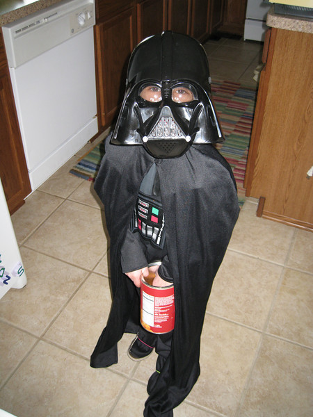 Is it Darth Vader? Who is behind that mask?