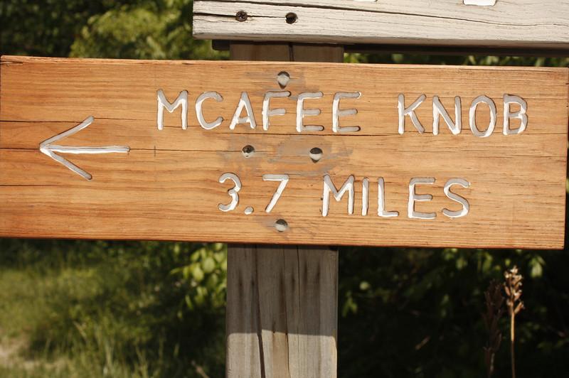 McAfee Knob