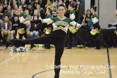 1-09-2016 Damascus HS Varsity Poms at Northwest HS, Photos by Jeffrey Vogt Photography with Kyle Hall