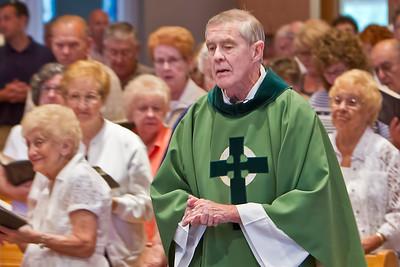 2012-07-14 Fr Bill Moriarity Mass