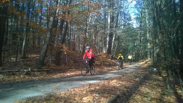 November 6 Chesterfield Gorge Ride