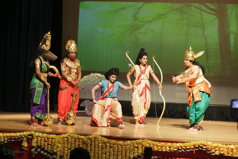 Sri Hanumad Vaibhavam;A Colorful Kuchipudi Dance Drama