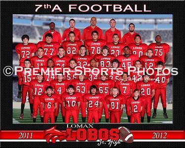 2011 Lomax Junior High 7th Grade Football