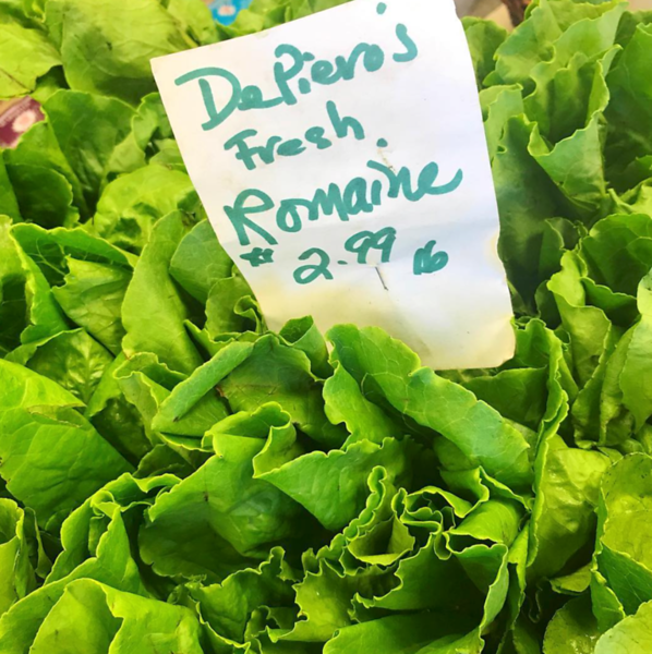 lettuce from DePiero's Farm Market