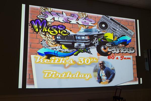 Keith's Surprise Birthday Celebration