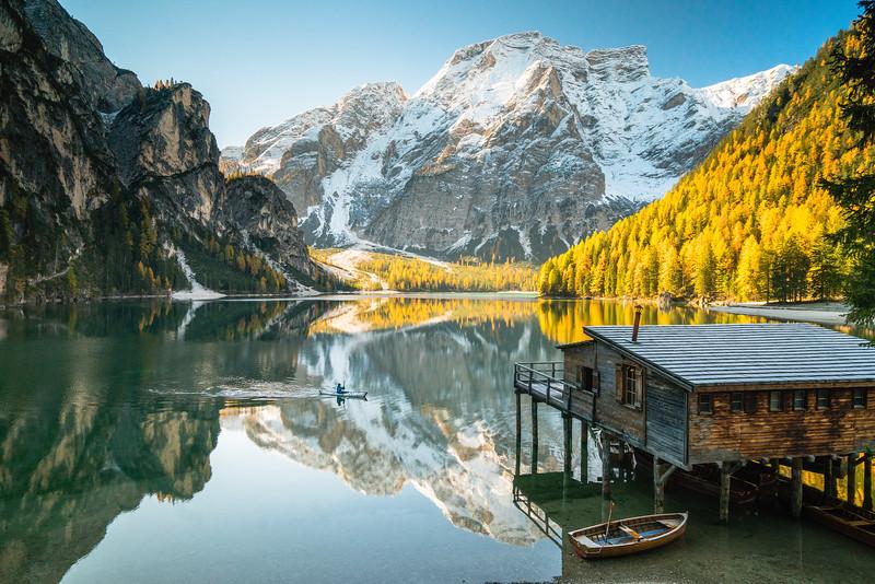 Lago De Brais, Italy