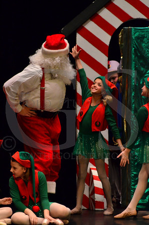 Yvonne Dance Day 2 Santa's version of the Nutcracker 2012