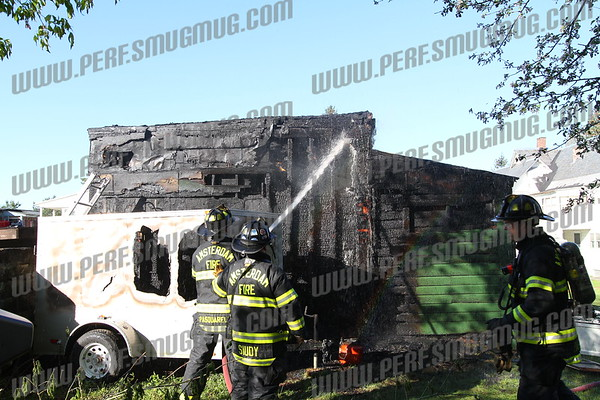 Garage Fire, 27 Florida Ave 4-29-2012