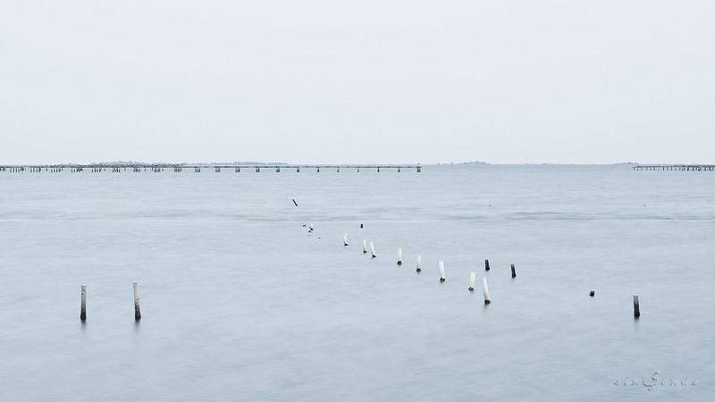 Blue dock II
