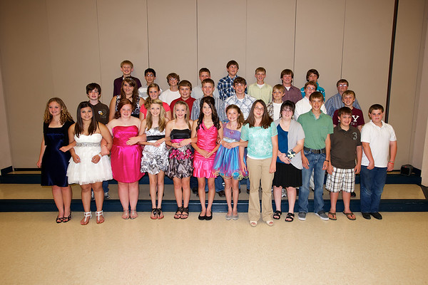 Axtell 8th grade grad 2012