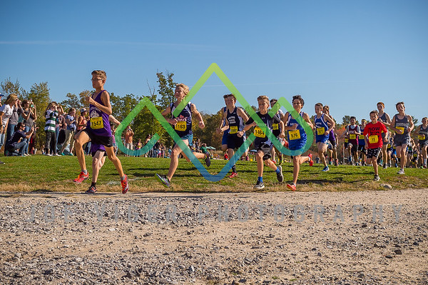 2017 NH Middle School Cross Country Division II Boys State Championship