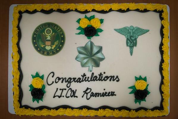 LTC Edgardo Ramirez Promotion Ceremony
