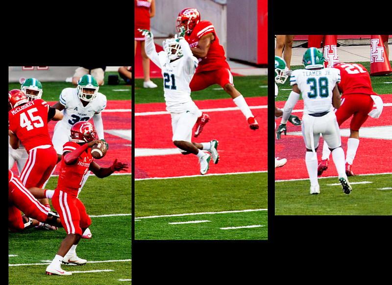 .. and Ward completes to Allen for another UH touchdown.