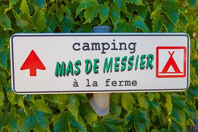 Mas de Messier camping en omgeving