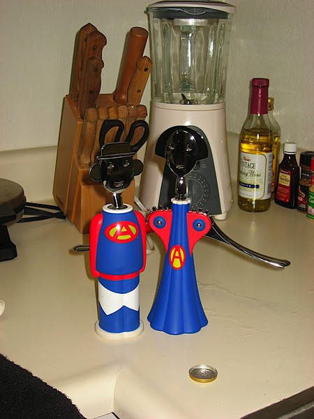 Our matching wine openers