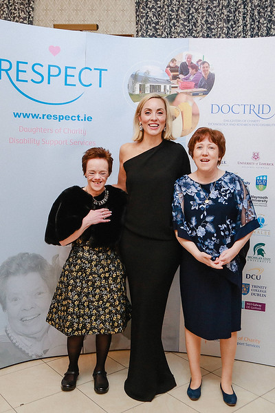 Photographed at Saturday's Respect charity ball in killiney fitzpatrick hotel