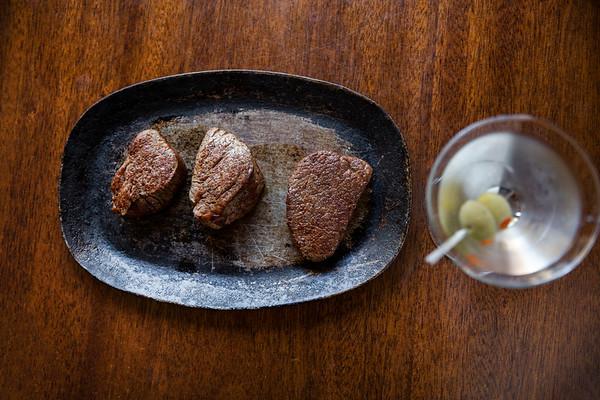 Steak - Martini