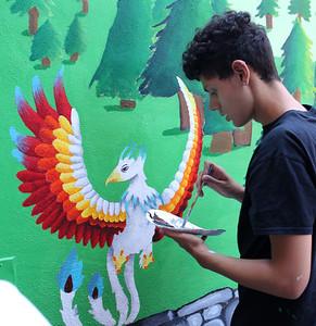 8-9-17 RAW Art Works mural at Zabota Adult Day