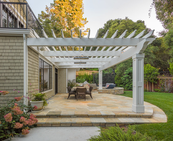 Sharon Park Arbor and Stone Patio