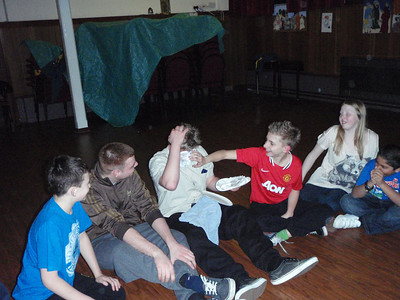Scouts Christmas Party December 2011
