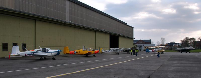 Veteranflydag 23. oktober 2011