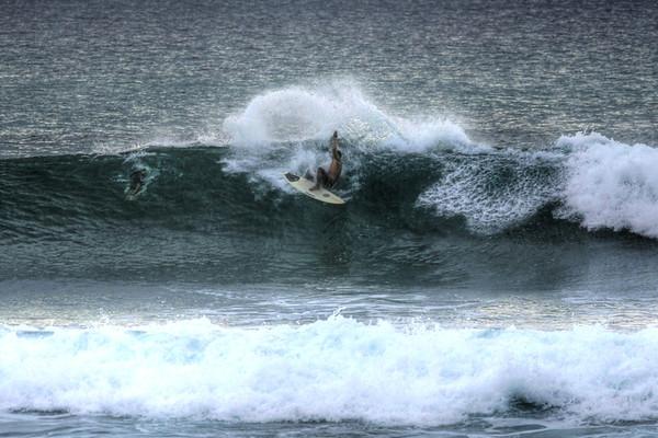 SURFING MAKAHA --OAHU