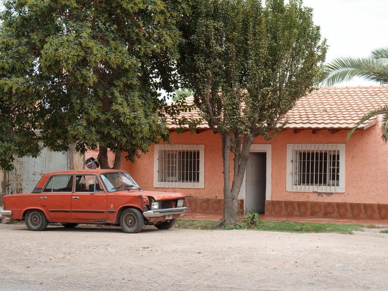 Car Must Match House!