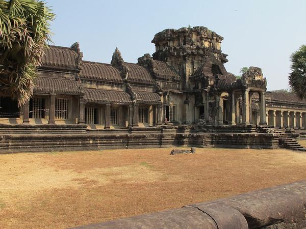 First inner wall at Angkor Wat.