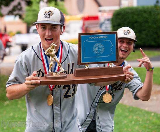 Ringgold Baseball STATE CHAMPIONSHIP Parade