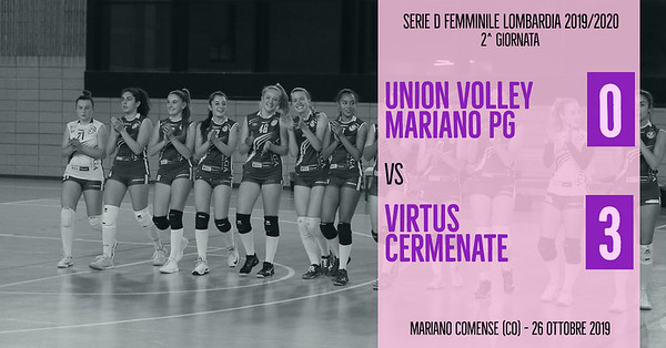 LOM-Df: 2^ Union Volley Mariano PG - Virtus Cermenate