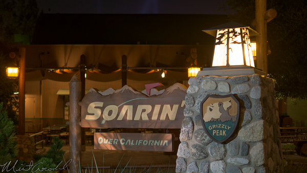 Disneyland Resort, Disney California Adventure, Grizzly, Peak, Airfield, Soarin, Soarin', Over, California