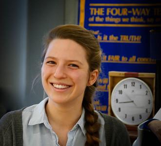Mar 30 - Krista Kruja on Global Grant Scholarship