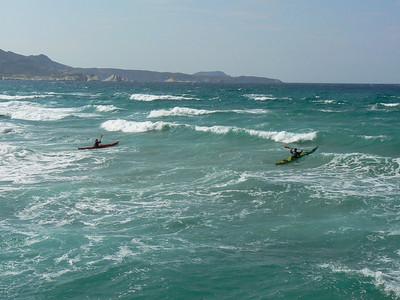 Surfing at mitikas 12-09-09