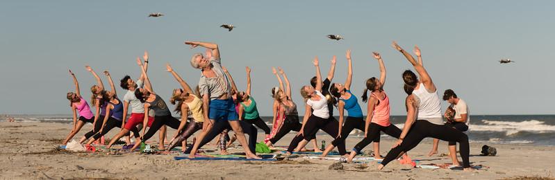 Folly Beach Yoga 2015