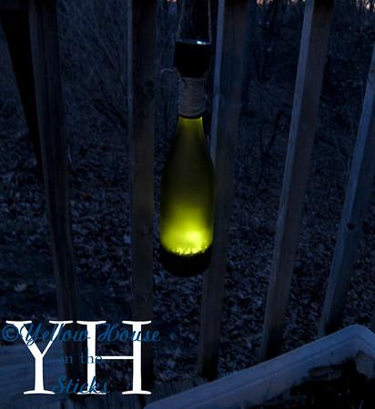 Wine Bottle Solar Lanterns