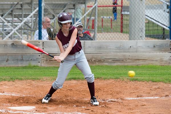 2014 03 28 Softball Garrison Lady Bulldogs at Elkhart