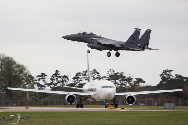 RAF Lakenheath : Wednesday 29th March 2017