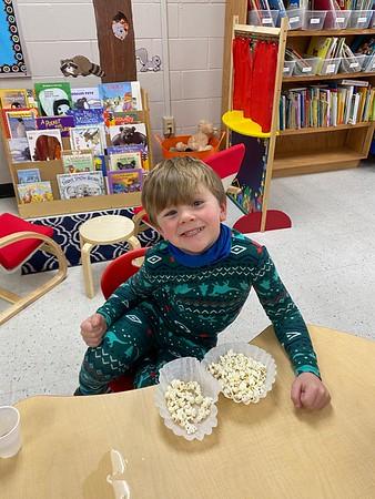 Pajama Day-Popcorn Party