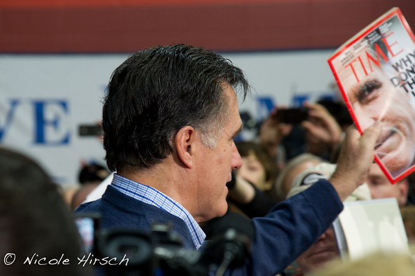 Romney Rally Derry NH 2012