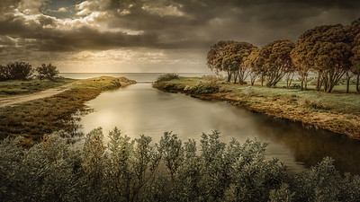 Anne Ramus - Estuary Stormlight