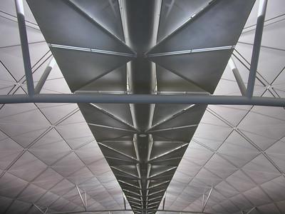 Landing at Hong Kong Chep Lap Kok Airport