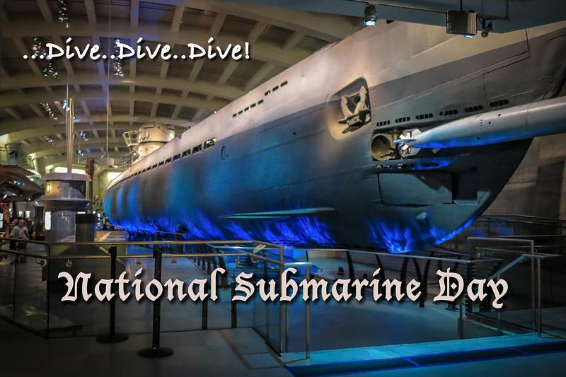 National Submarine Day