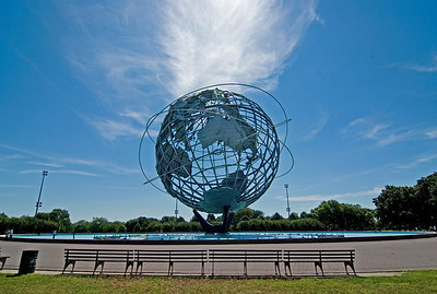 Unisphere and Flushing Meadows Park
