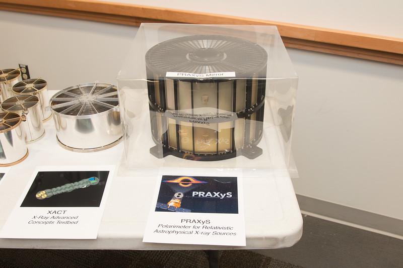 XACT and PRAXyS X-ray mirrors -- Retirement party for Peter Serlemitsos from NASA/GSFC after 55 years. -- April 27, 2017 -- NASA/Goddard Space Flight Center, Greenbelt, MD